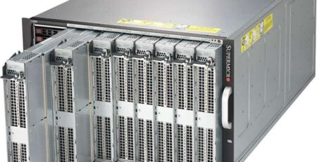 Supermicro SuperServer 7089P-TR4T Front